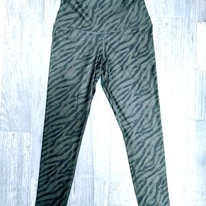 2/$30 Evolution Creation Zebra Stripe Leggings